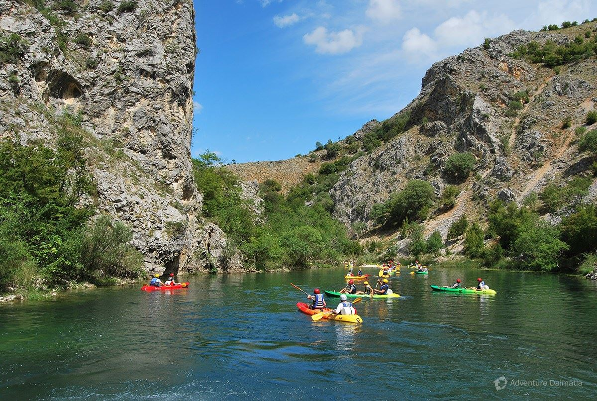 Zrmanja is considered to be one of the most beautiful Croatian rivers