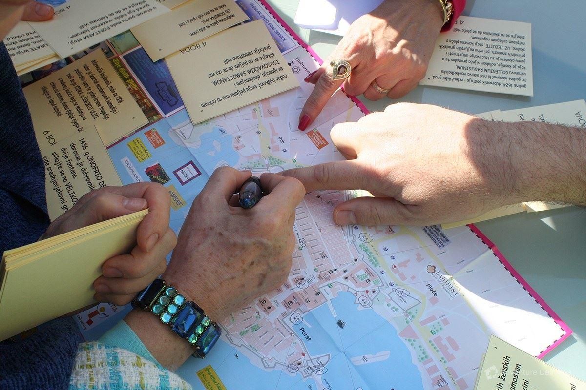Team building games - Old Town challenge in Dubrovnik