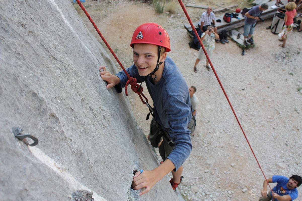 School & Youth adventures - Rock climbing