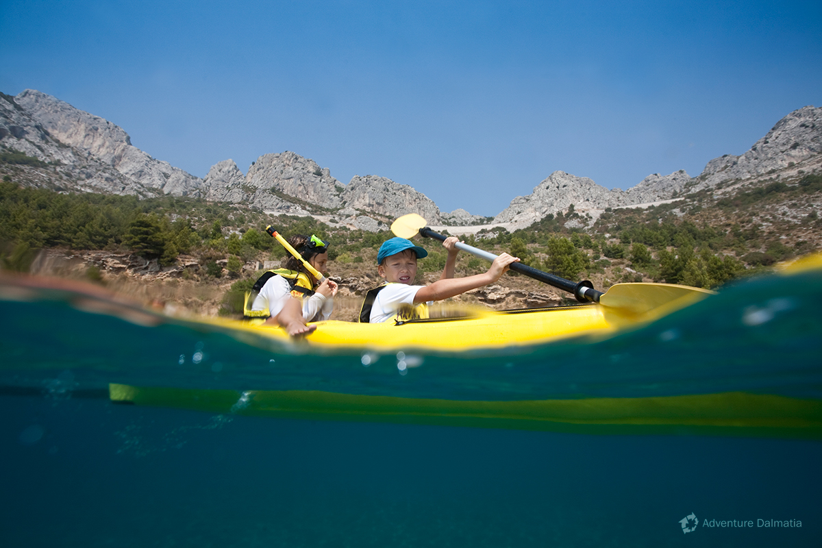 School & Youth adventures - Adriatic Sea kayaking