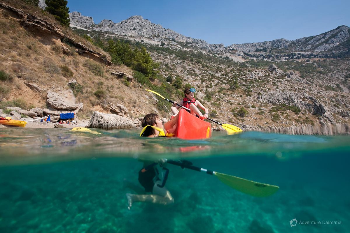 School & Youth groups - Adriatic Sea kayaking
