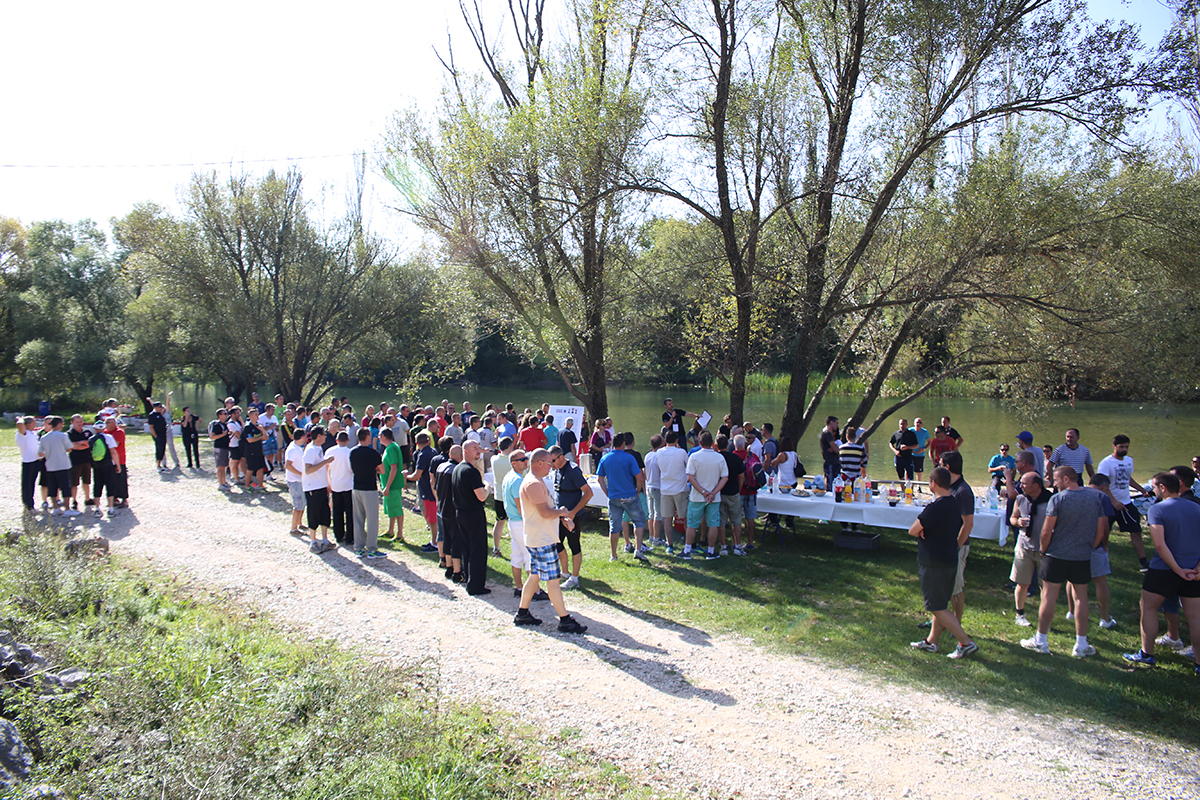 Team building games - Games by Cetina river