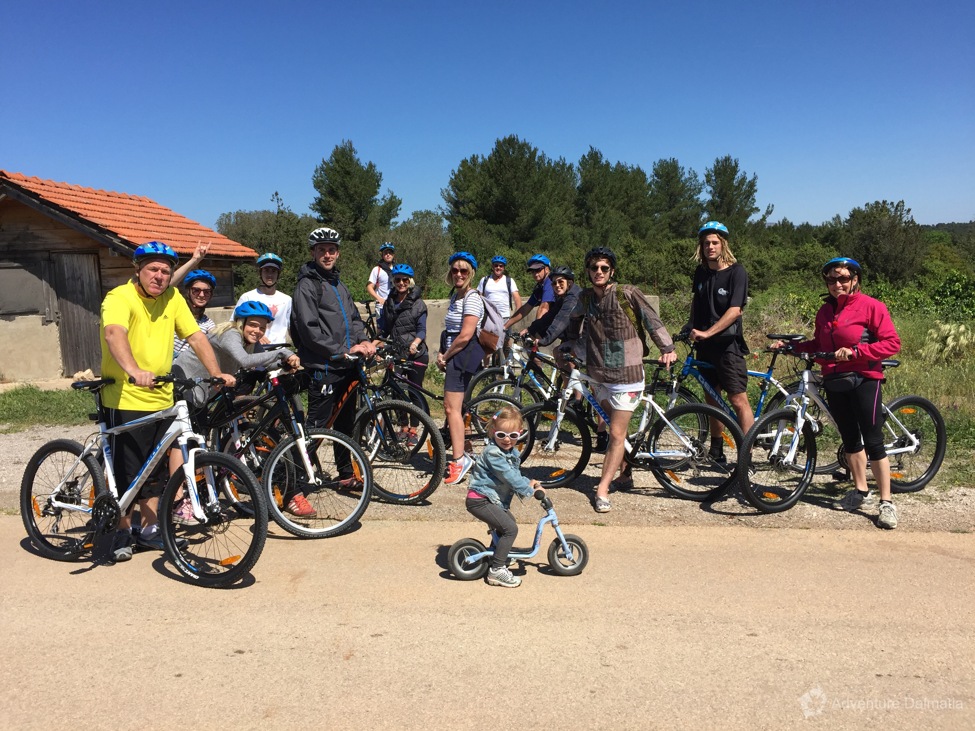 Hvar biking tour