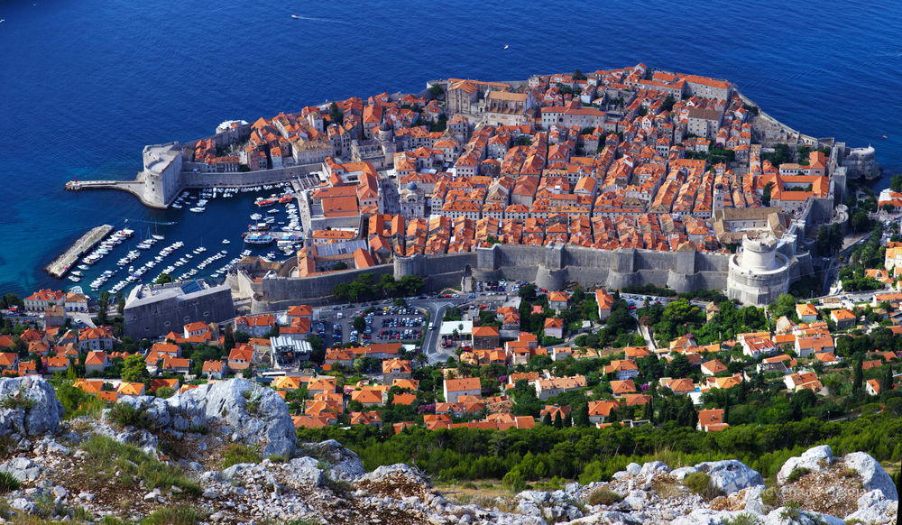 Bird's-eye view of Old Town