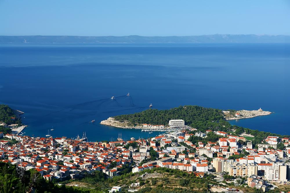 Makarska city
