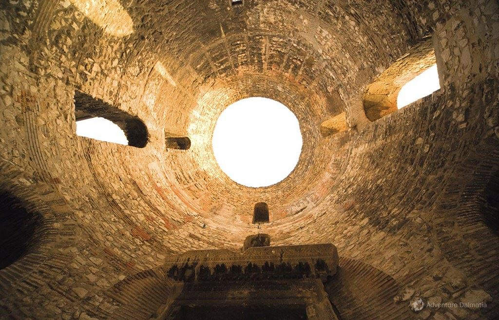Enter the chambers of emperor Diocletian
