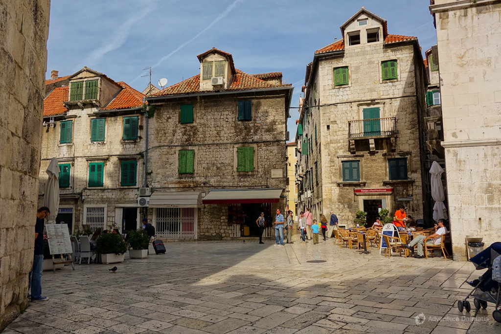 Split - Old fruit square, traditional architecture