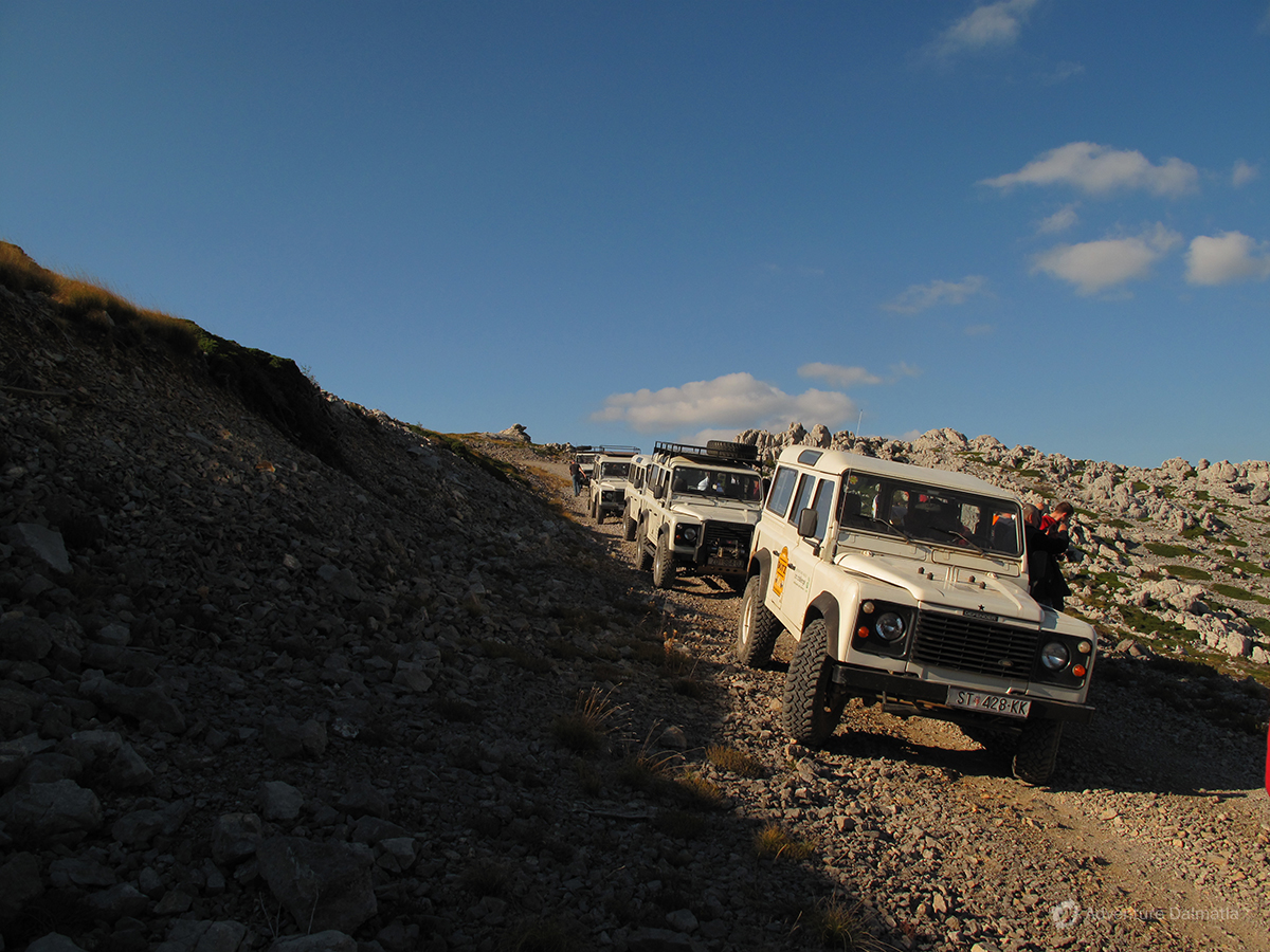 Jeep safari on Mount Velebit available during the whole year