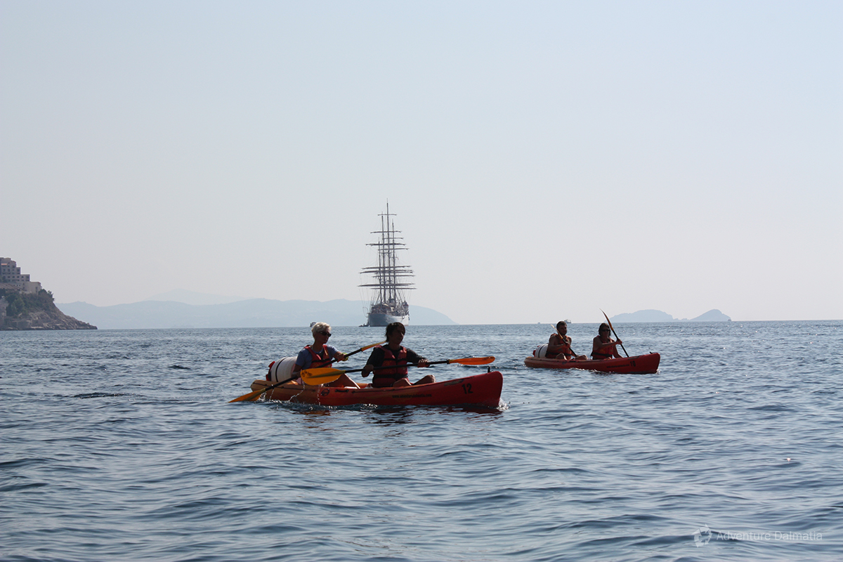 Sea kayaking in Dubrovnilk with everyday departures