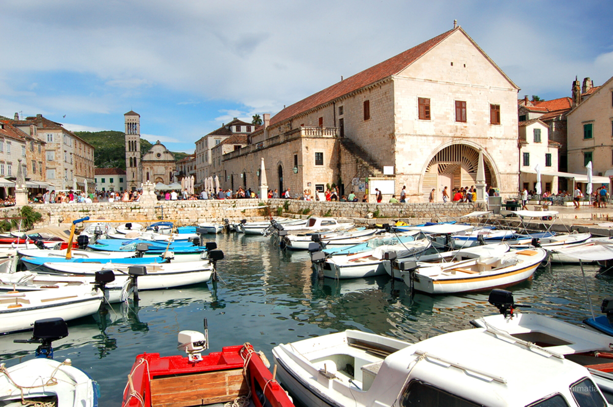 St Stjepans Cathedral in Hvar Town
