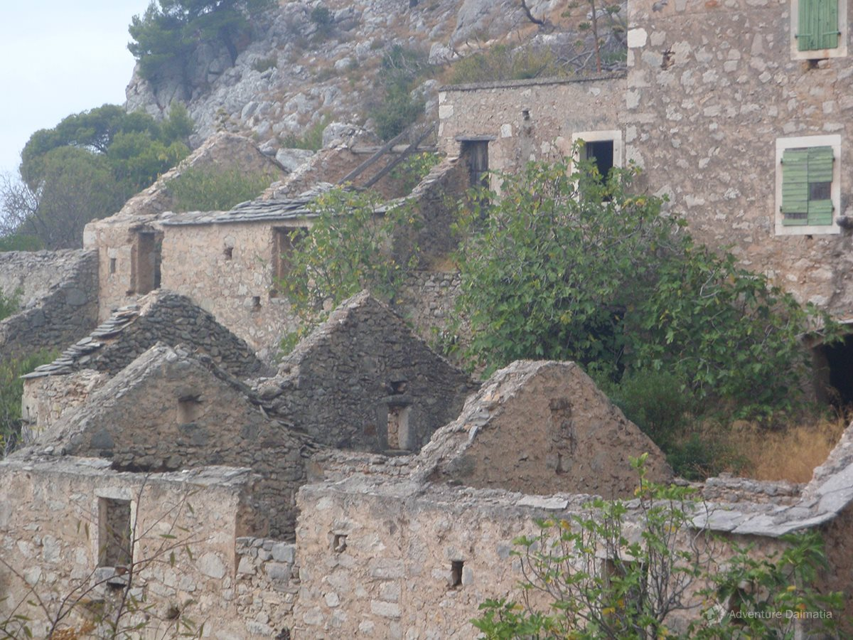 Old stone villages on a tour