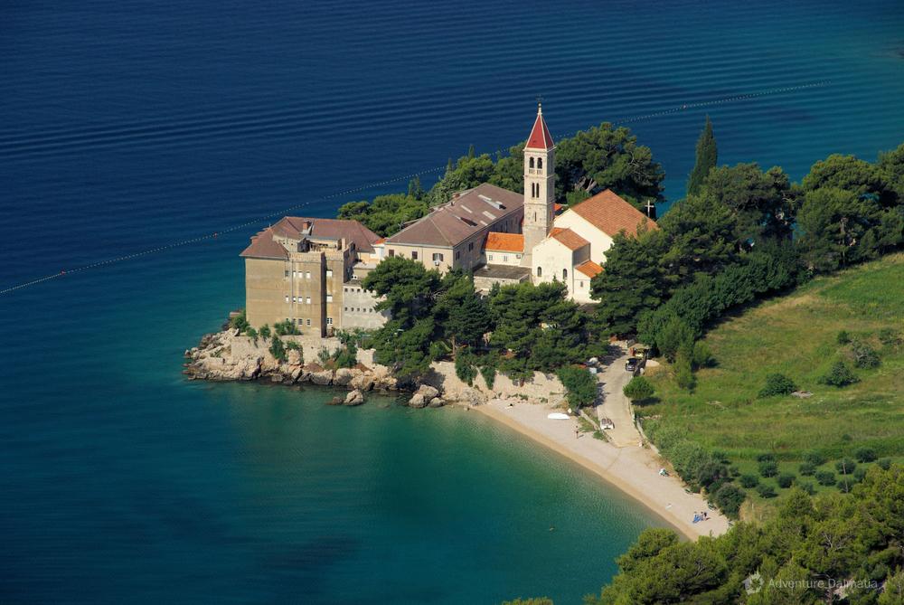 Monastery on Brač island, Bol town