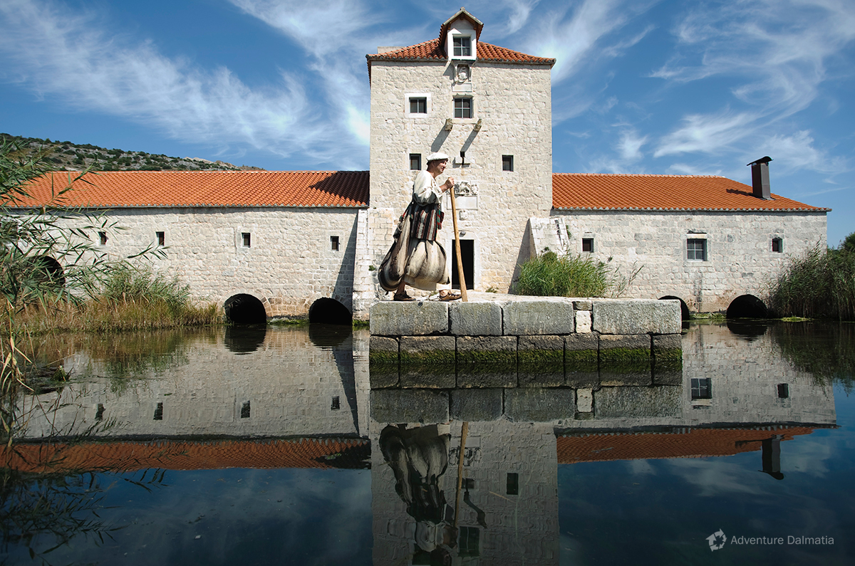 Old Pantana mill in Trogir