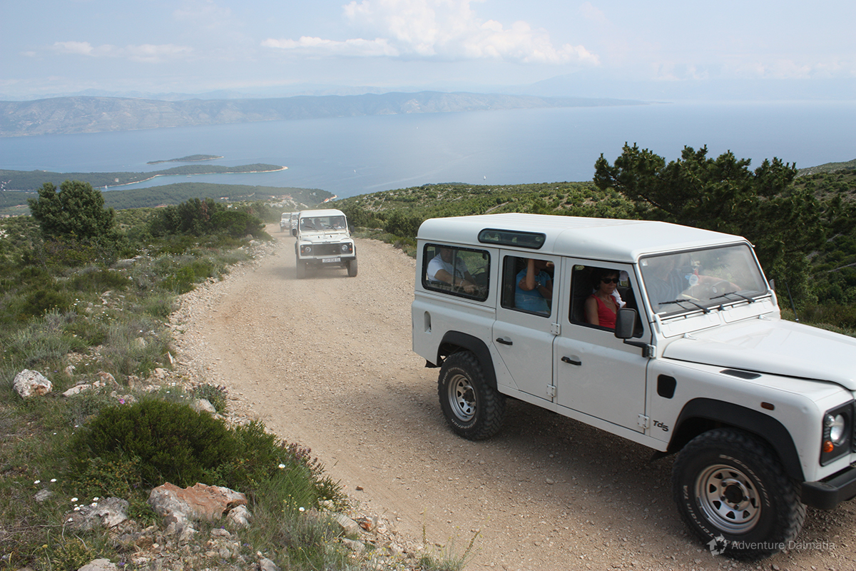 A tour with excellent views and sightseeing spots
