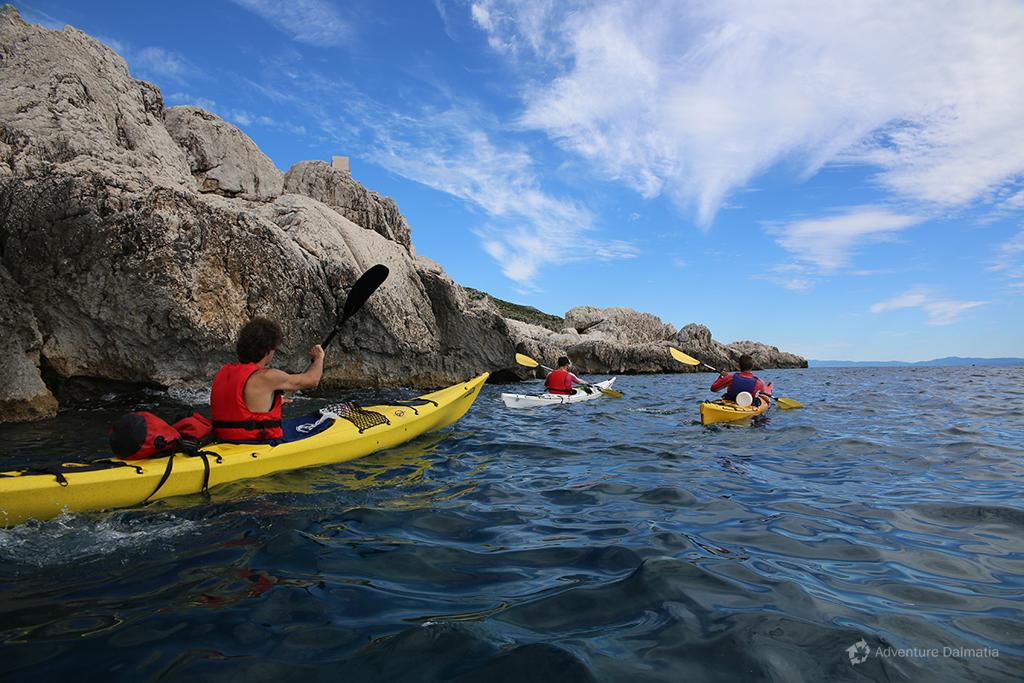 Sea kayaking tour Split - Brač - Hvar.