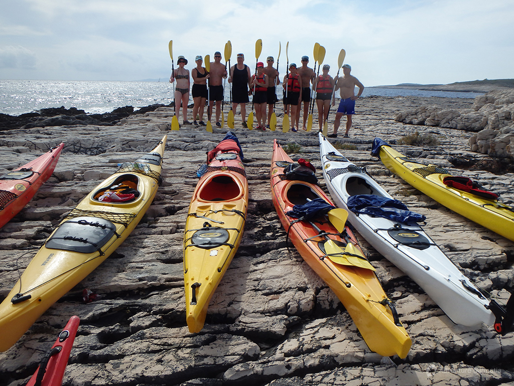 Great photo memory from the end of a sea kayaking week.