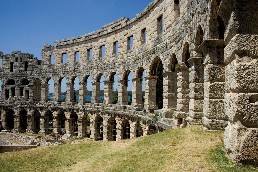 Amphitheater in Pula, Istria