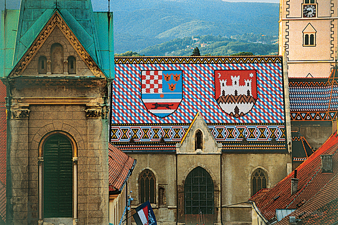 St Markos church in Zagreb