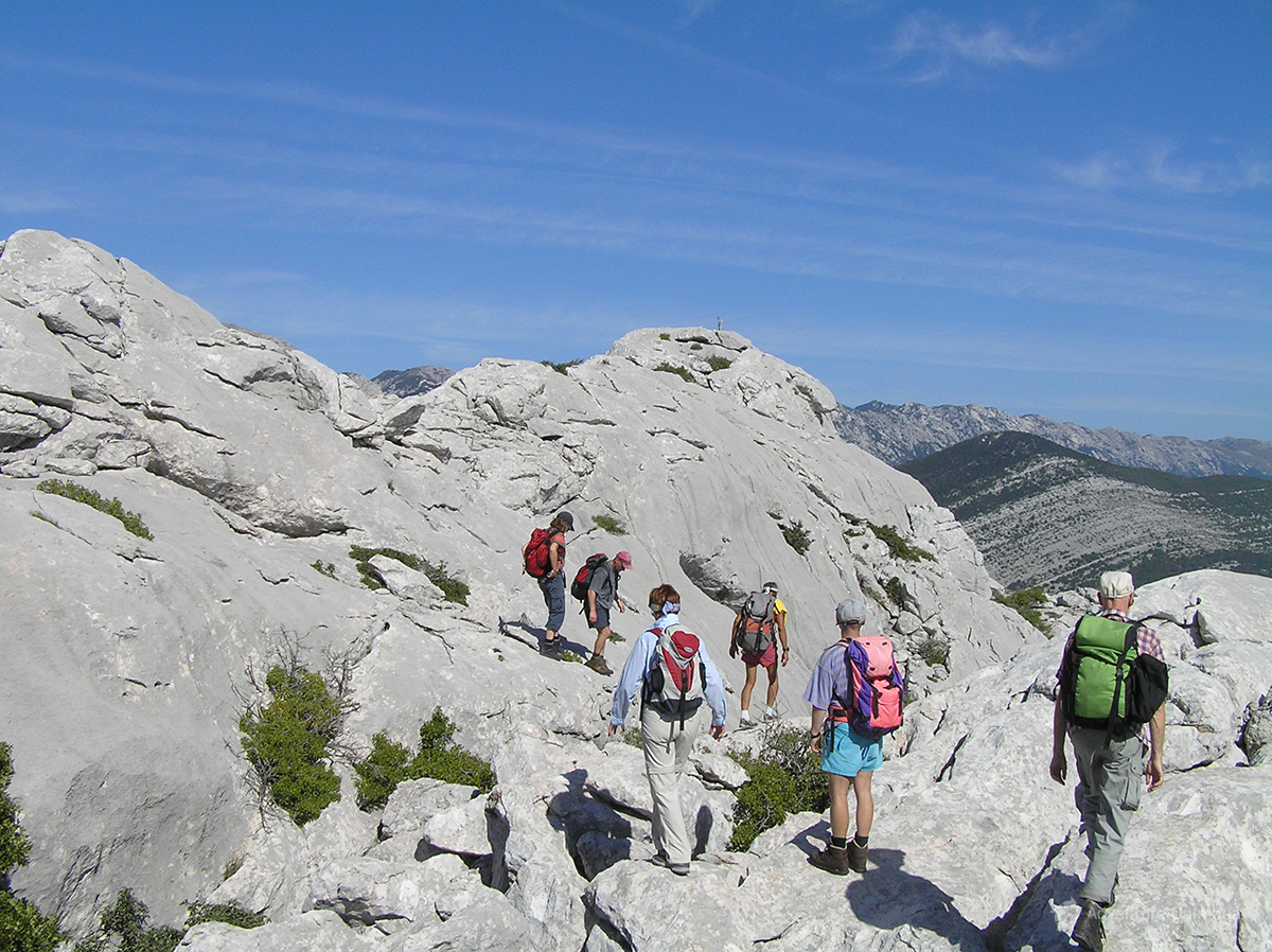 Velebit is the largest but not the tallest mountain range in Croatia
