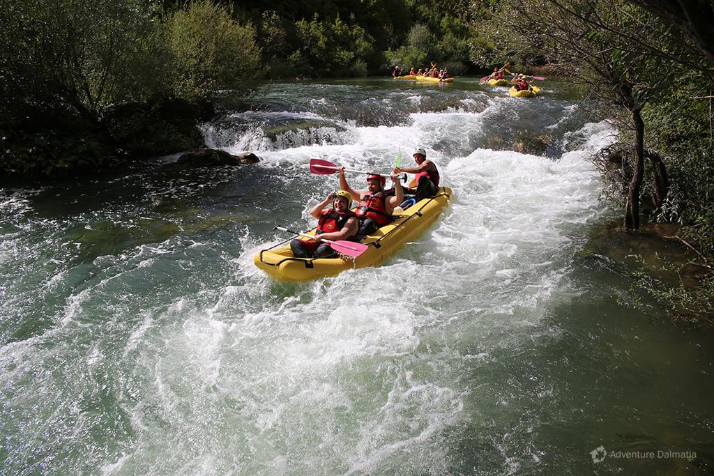 Rafting tour.