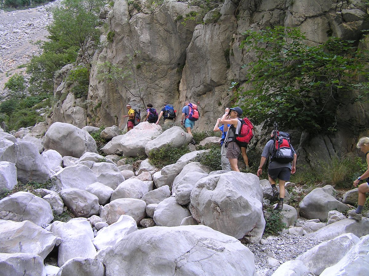 Stiff cliffs are one of the characteristics of Velebit