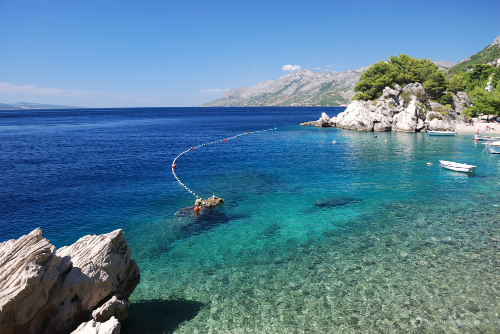 Crystal clean waters of the Adriatic Sea