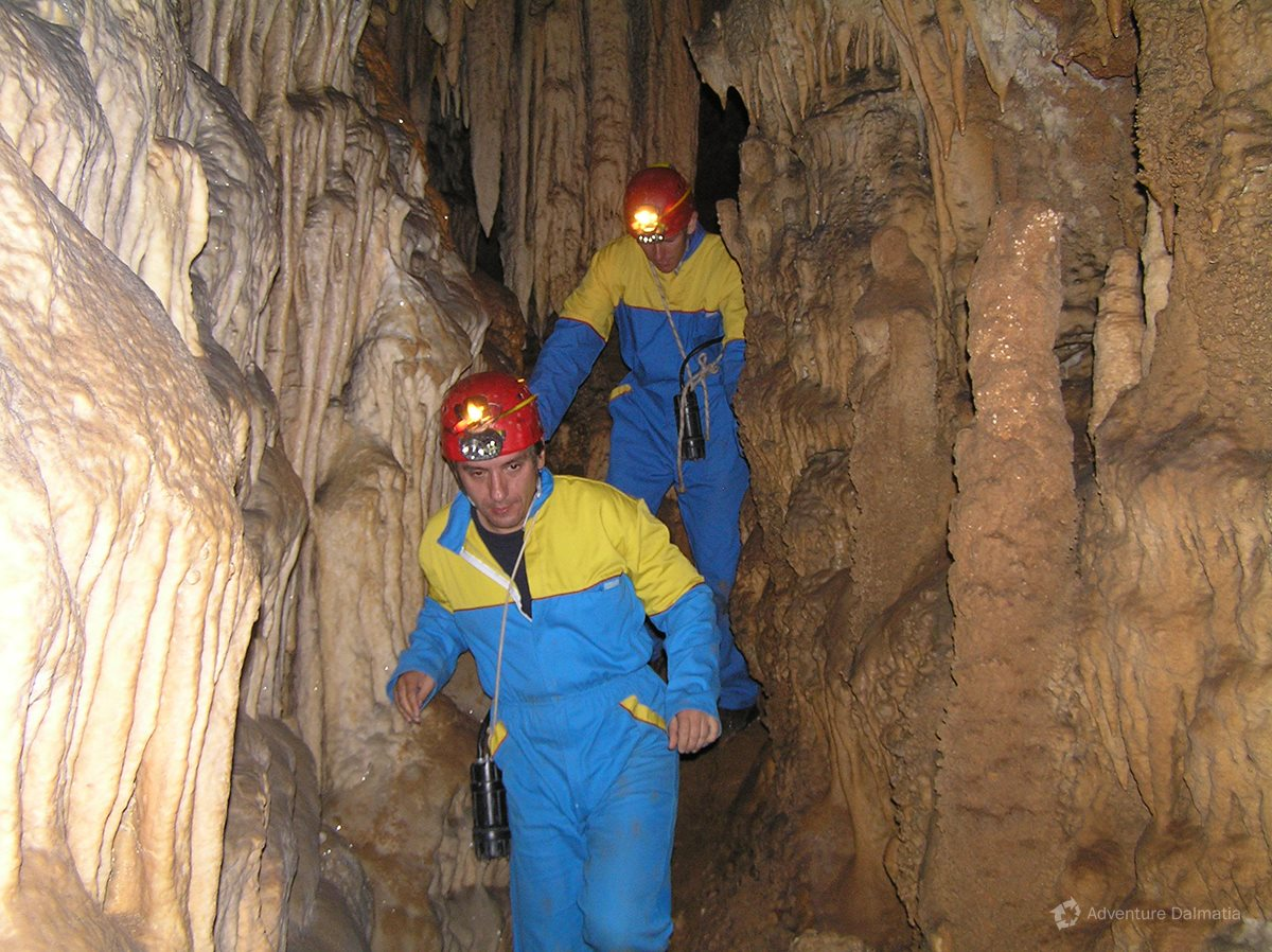 All caving equipment is provided by the organizer