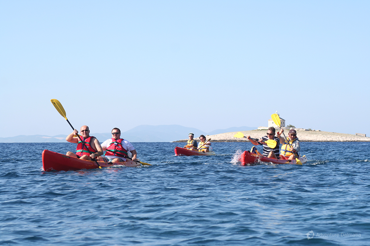 Sea kayaking - Island Hvar