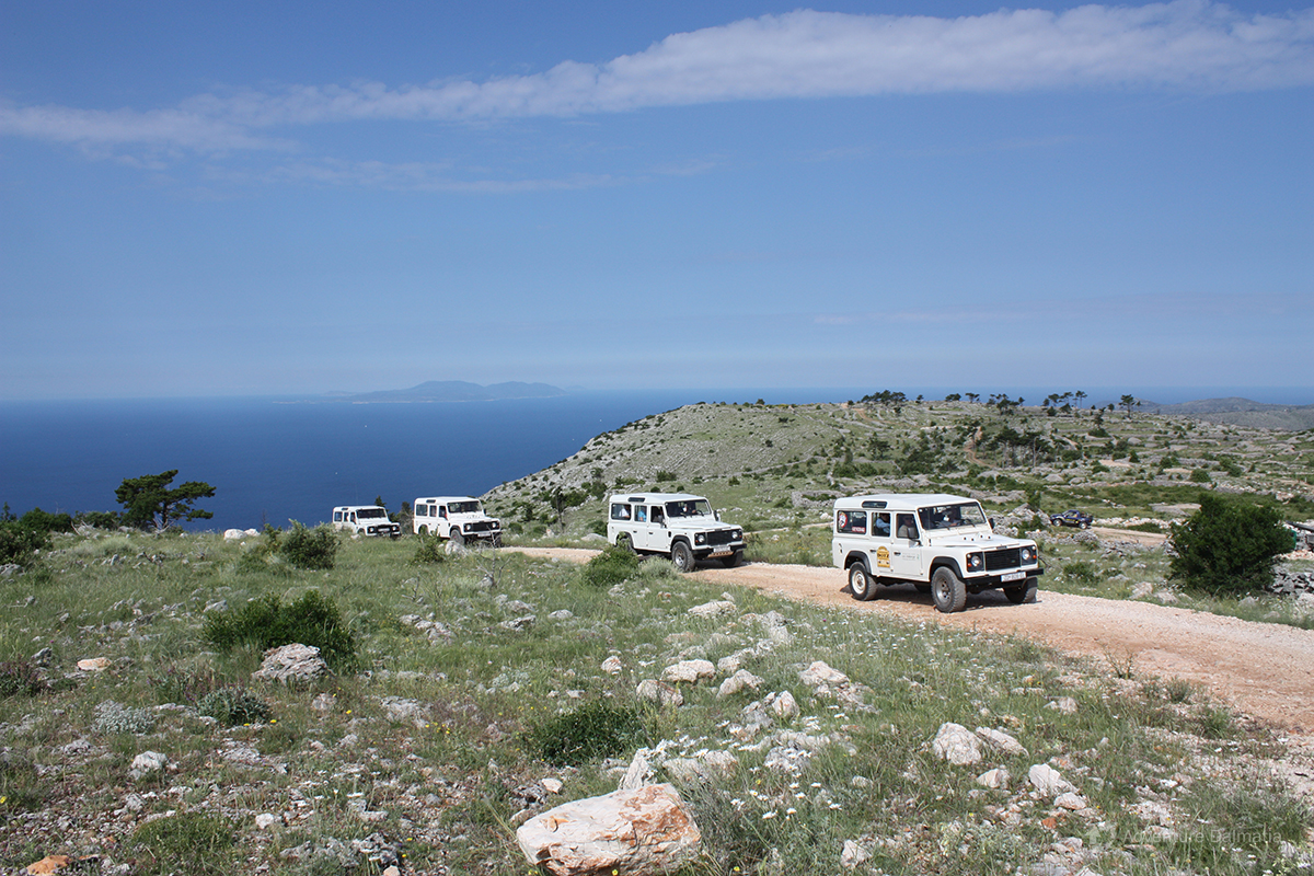 Jeep Safari tour on Hvar island
