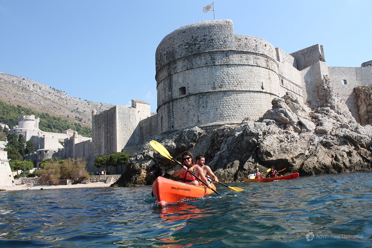 Fortress Bokar in Dubrovnik city