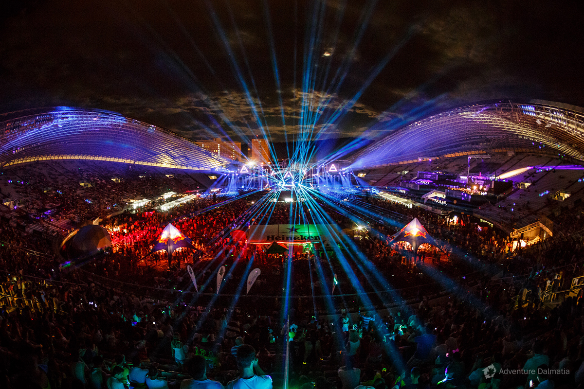 Electronic music festival Ultra Europe - Split, Croatia