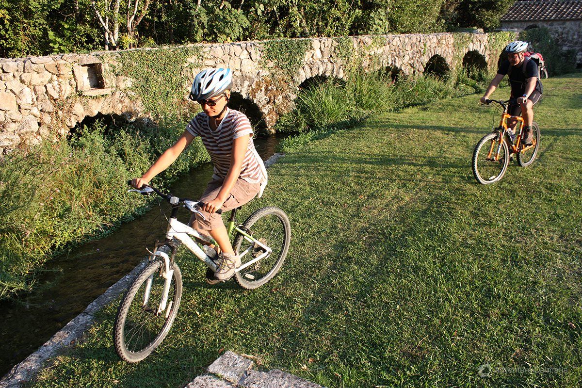 Biking in Konavle valley