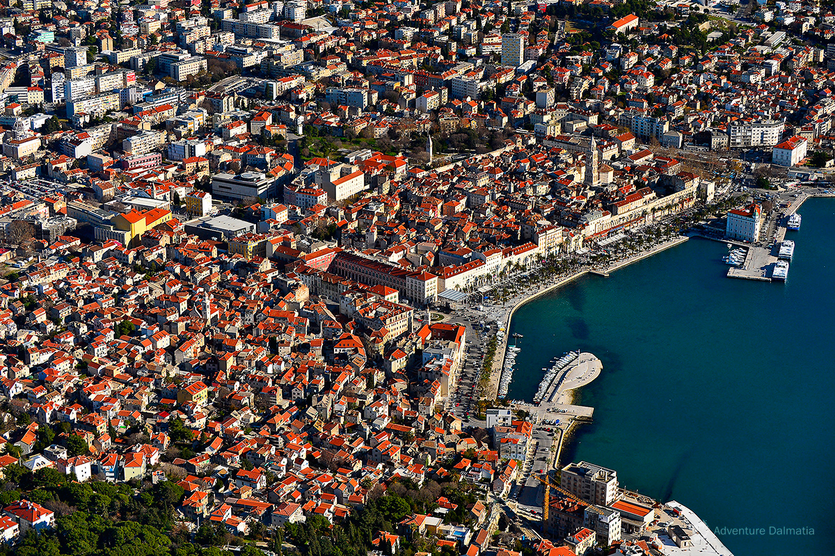 Split is the second biggest city in Croatia. There are many outdoor activities to do in the sorround