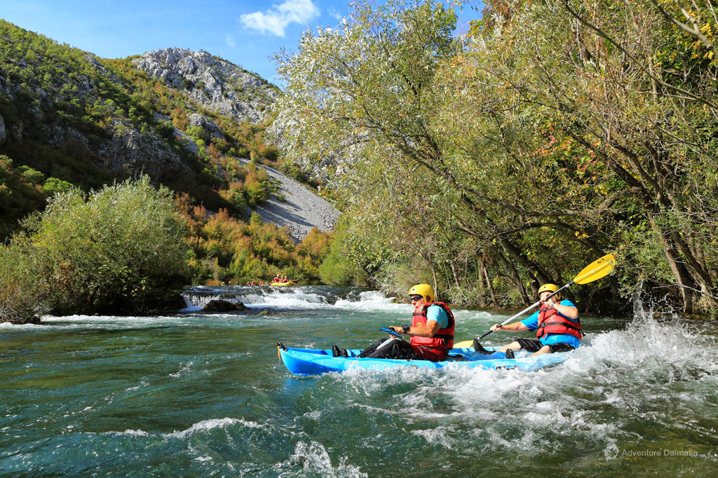 Canoe Safari on Cetina River