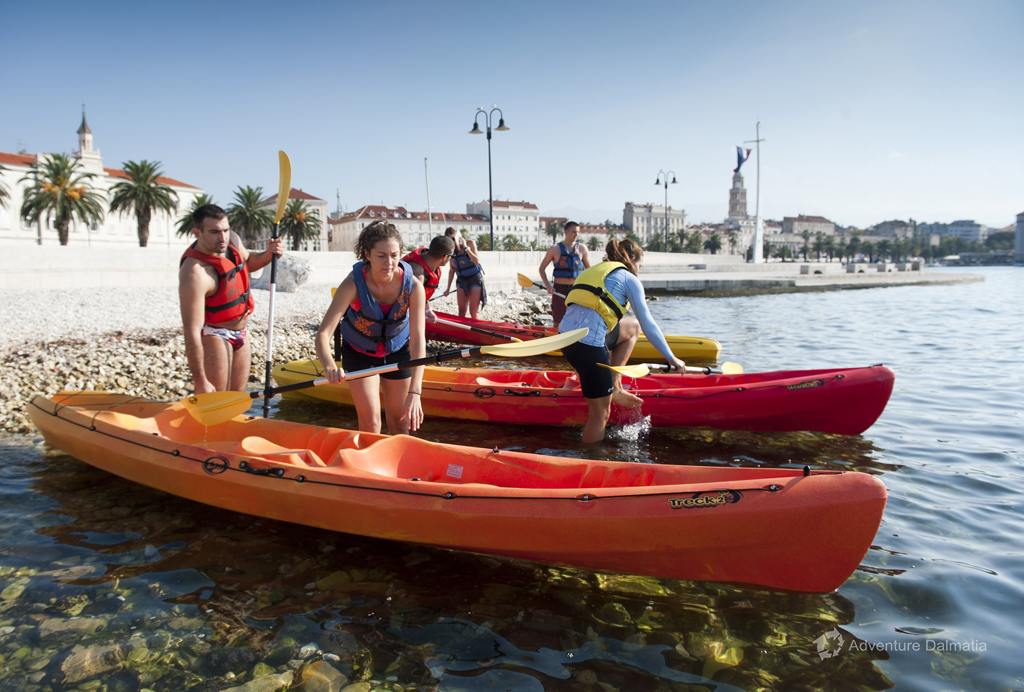 Equipment included - life jackets, paddles and kayaks provided by Adventure Dalmatia