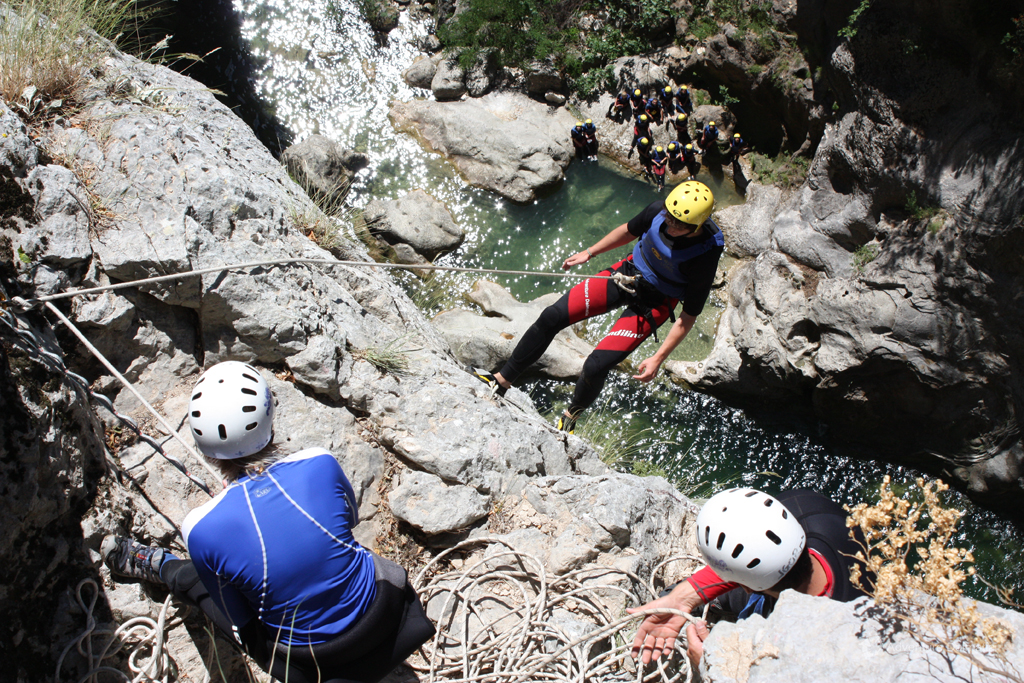 Extreme Canyoning on Cetina river near Omiš
