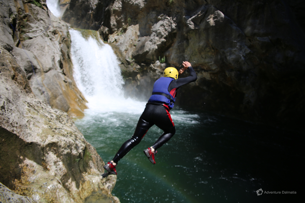 Jumping near Great Gubavica