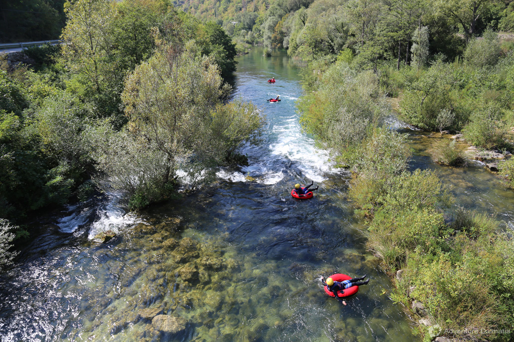 Cetina river will charm you with its beauty.