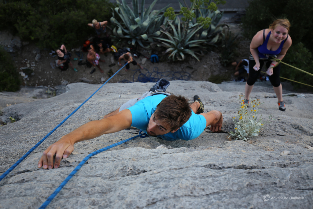 What is hard to endure is sweet to remember. Join us on a rock climbing tour.