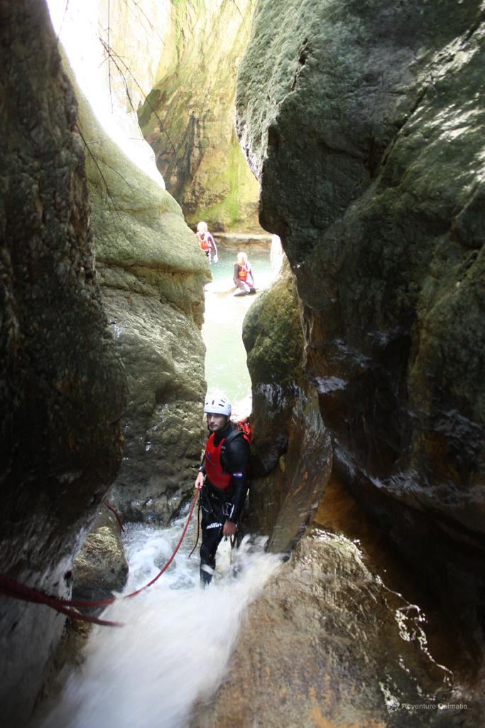 Narrow tunels of Badnjevica