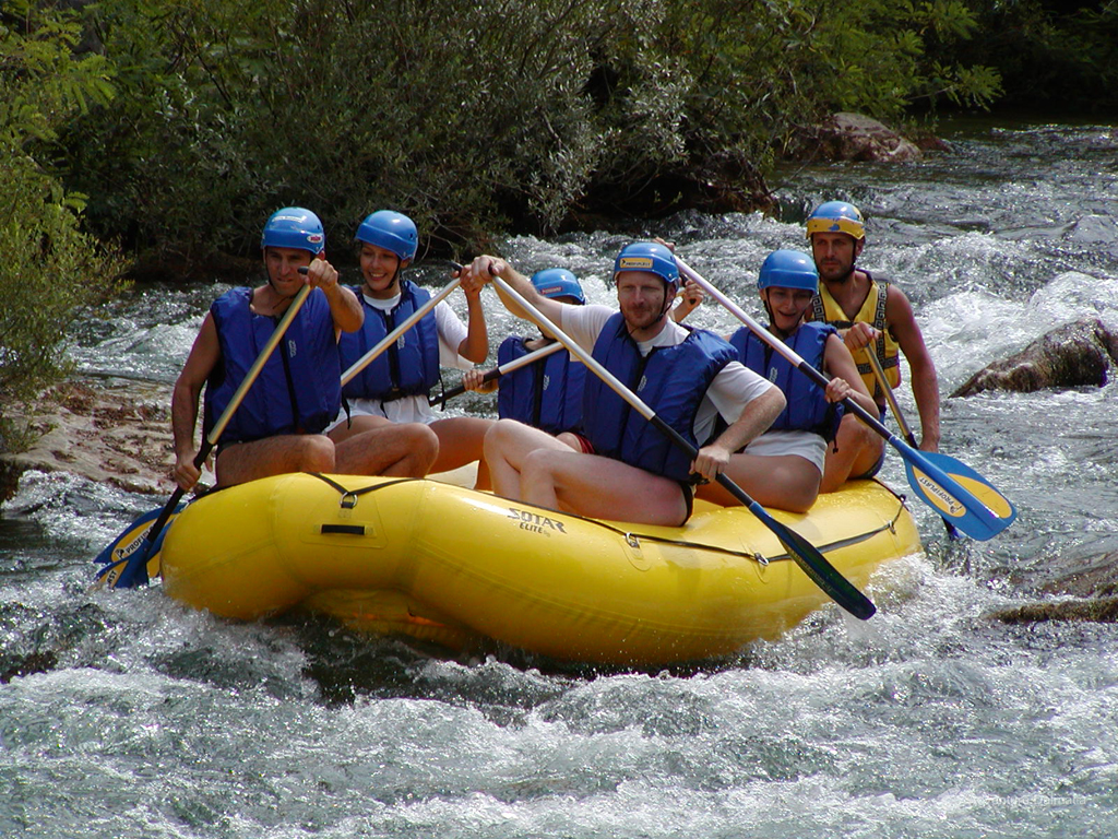 Our instructors will make sure you have a great time, Adventure Dalmatia rafting tour
