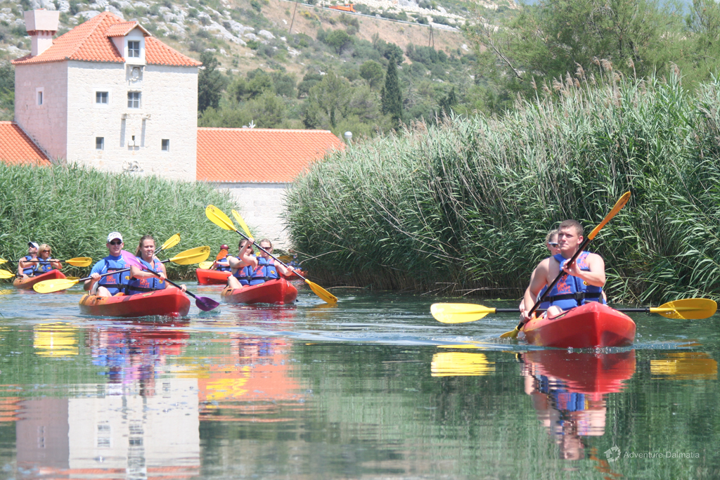 Start and finish point of the sea kayaking tour in Trogir - Old mill Pantana