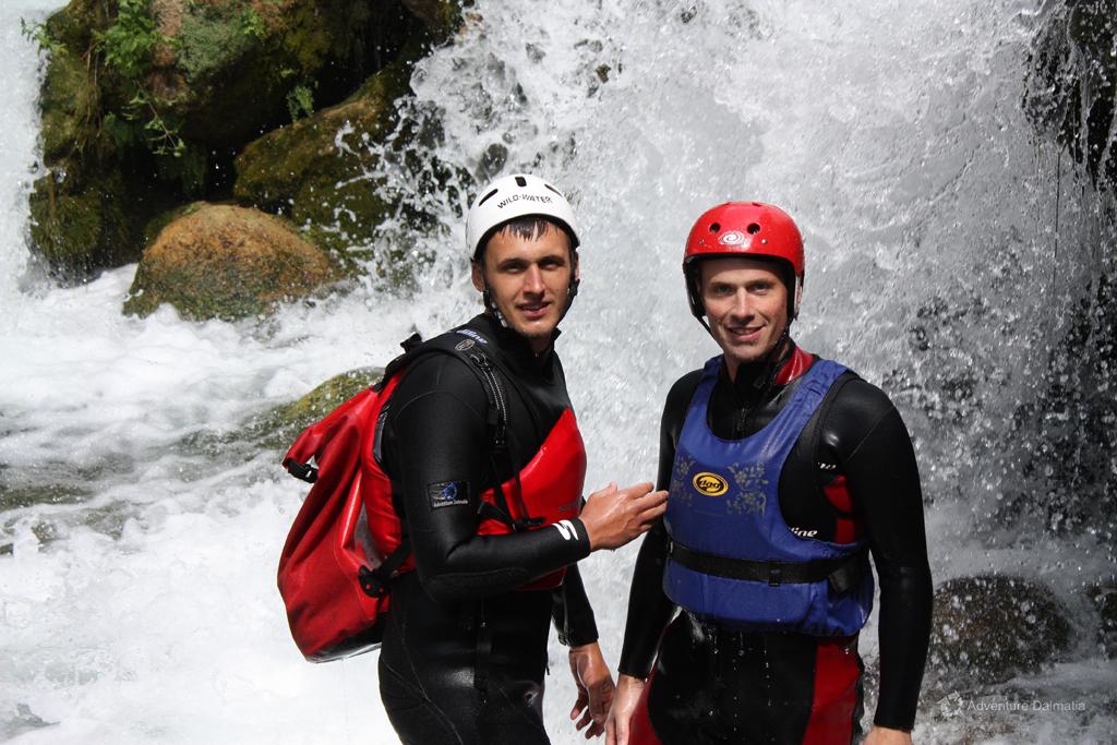 Our guide Toni Biočić (on the left)