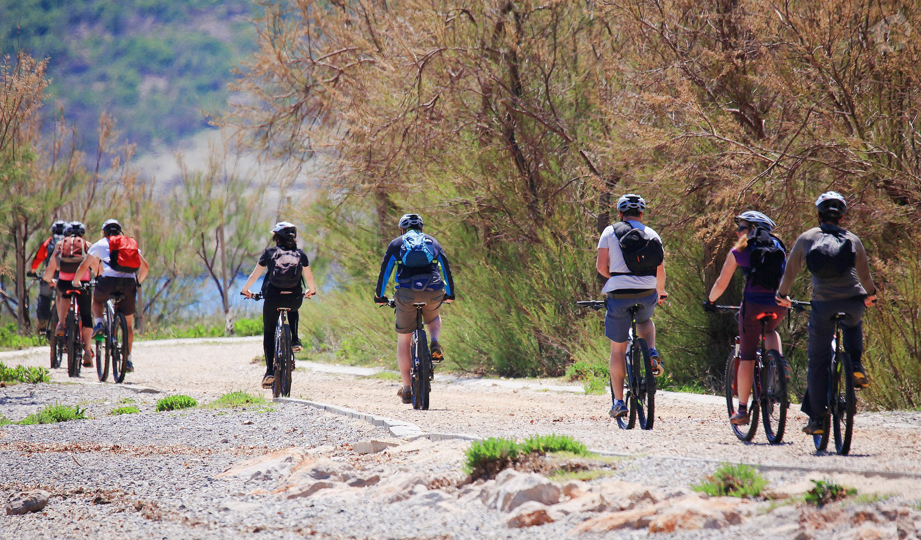 Biking tour in Paklenica national park