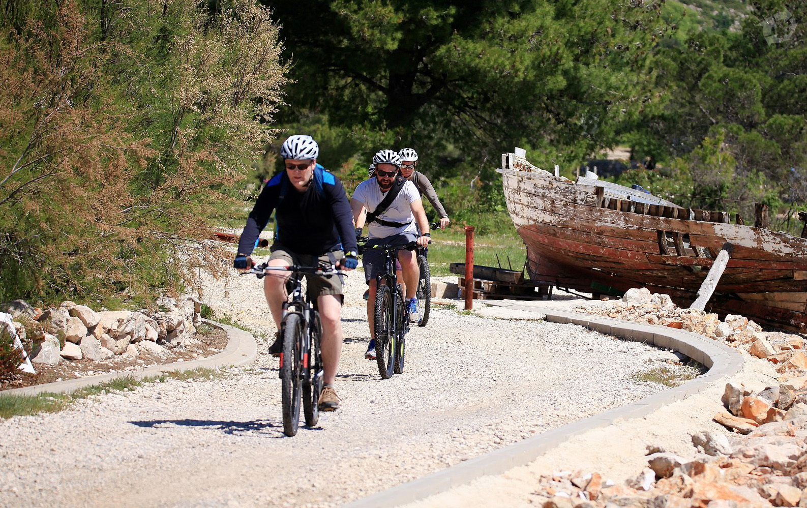 """Paklenica national park got its name after """"pakllina"""" od pine resin used for coating of wooden boats"""